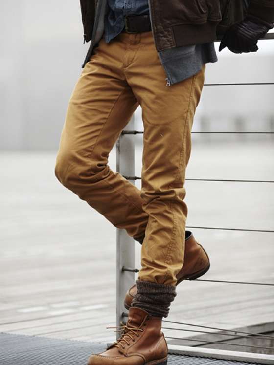 Black Polo Jeans And Brown Shoes