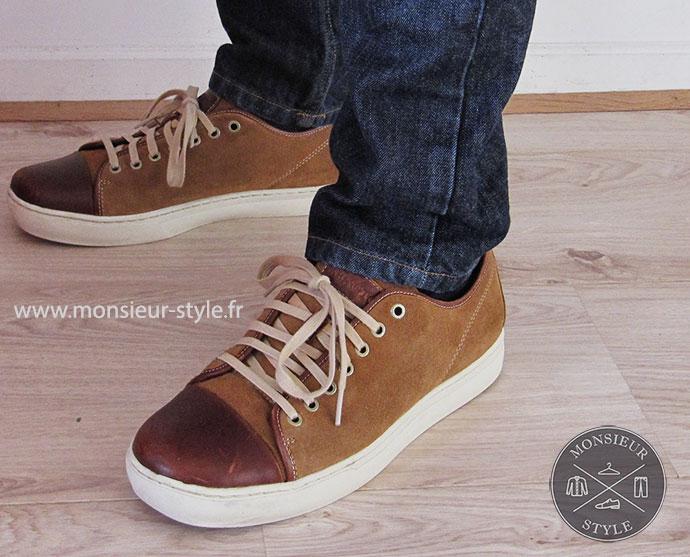 sneakers abbington relooking monsieur style