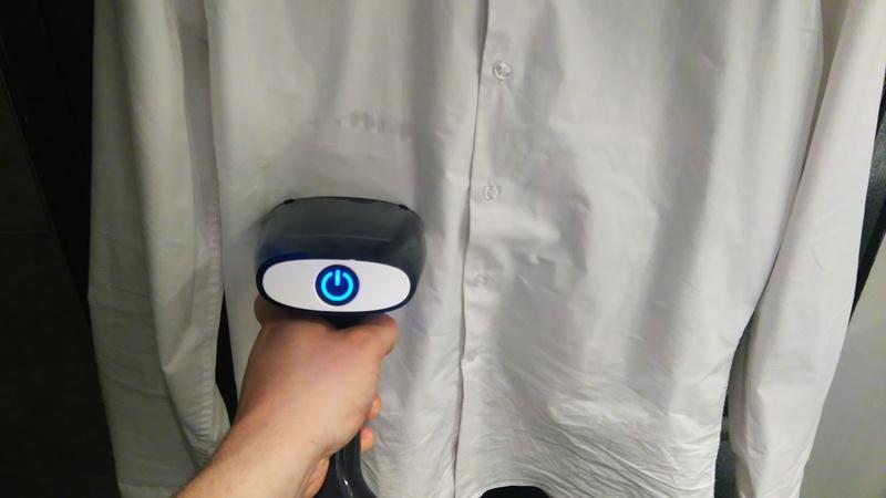 Défroisser plis chemise froissée