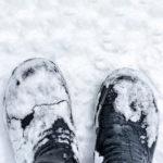 Enlever les traces de sel sur ses chaussures
